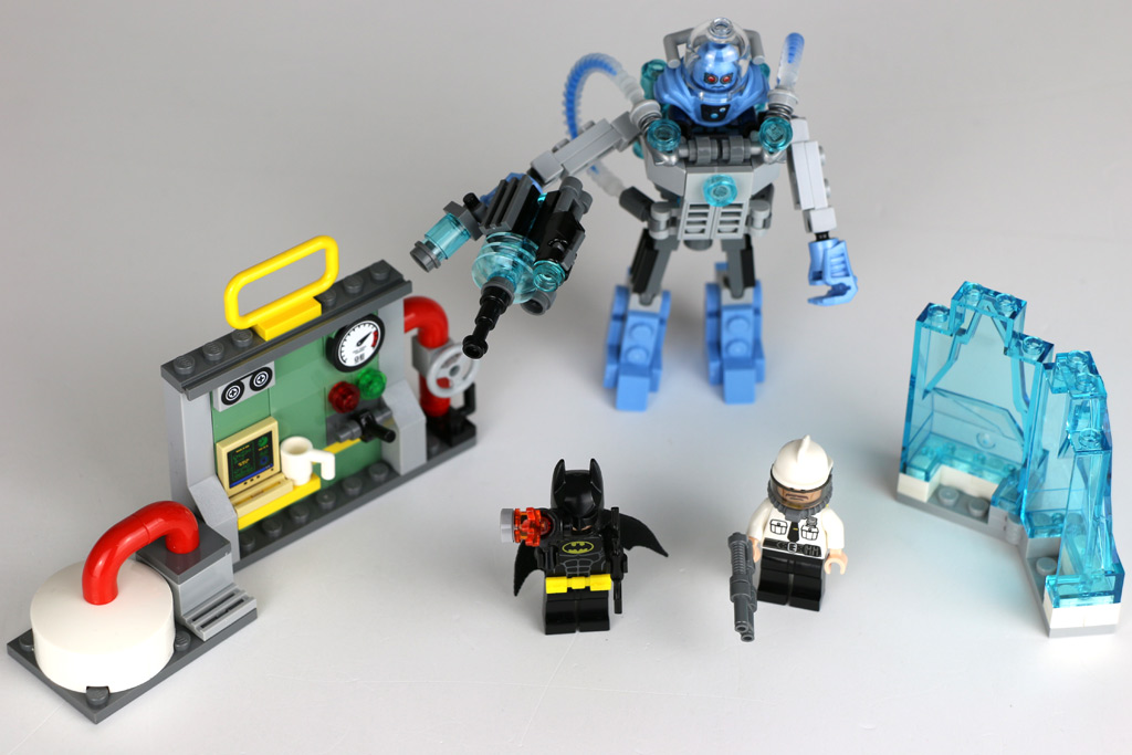 The LEGO Batman Movie: Mr. Freeze Ice Attack 70901 im Überblick | © Andres Lehmann / zusammengebaut.com