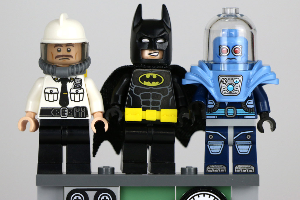 Security Guard, Batman und Mr. Freeze | © Andres Lehmann / zusammengebaut.com