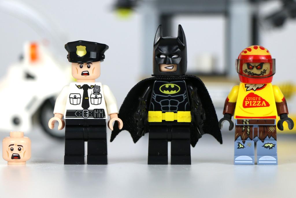 Wachmann, Batman und Scarecrow | © Andres Lehmann / zusammengebaut.com