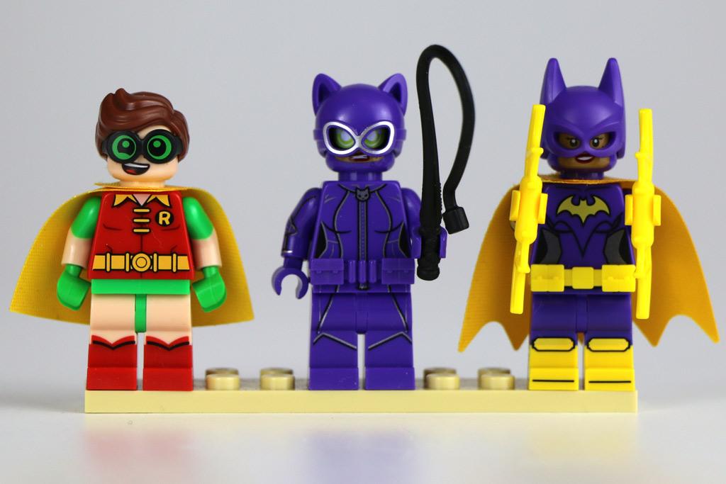 Robin, Catwoman und Batgirl | © Andres Lehmann / zusammengebaut.com