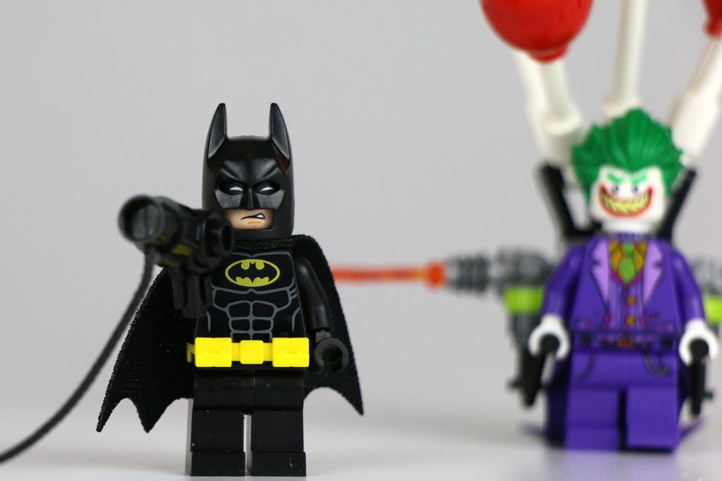 Batman: Versucht den Joker aufzuhalten | © Andres Lehmann / zusammengebaut.com