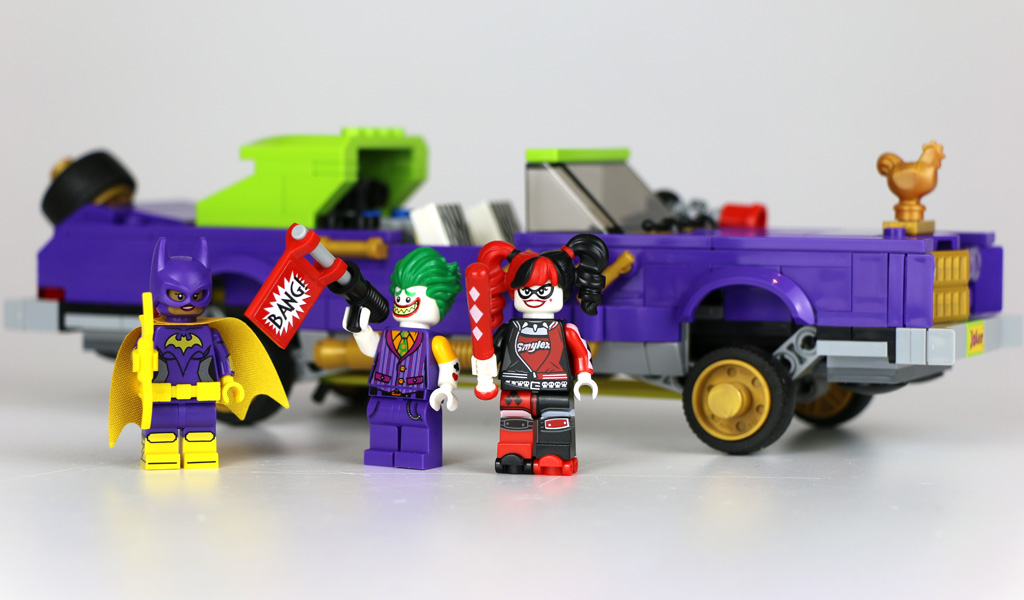 The LEGO Batman Movie: The Joker Notorious Lowrider 70906 | © Andres Lehmann / zusammengebaut.com