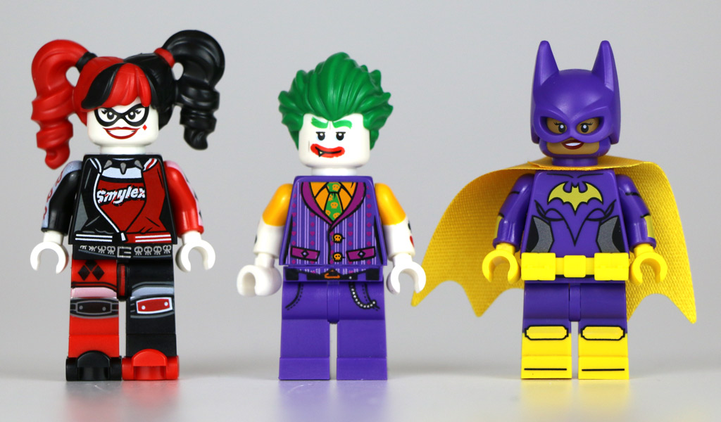 Harley Quinn, Joker und Batgirl | © Andres Lehmann / zusammengebaut.com