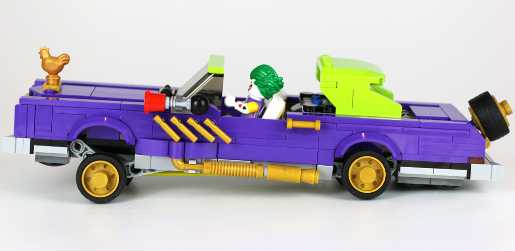 The LEGO Batman Movie: The Joker Notorious Lowrider 70906 | © Andres Lehmann / zusammengebaut.com