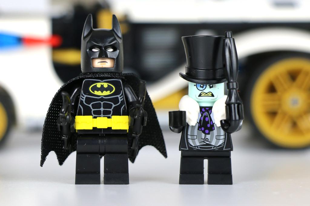 Batman und der Pinguin | © Andres Lehmann / zusammengebaut.com