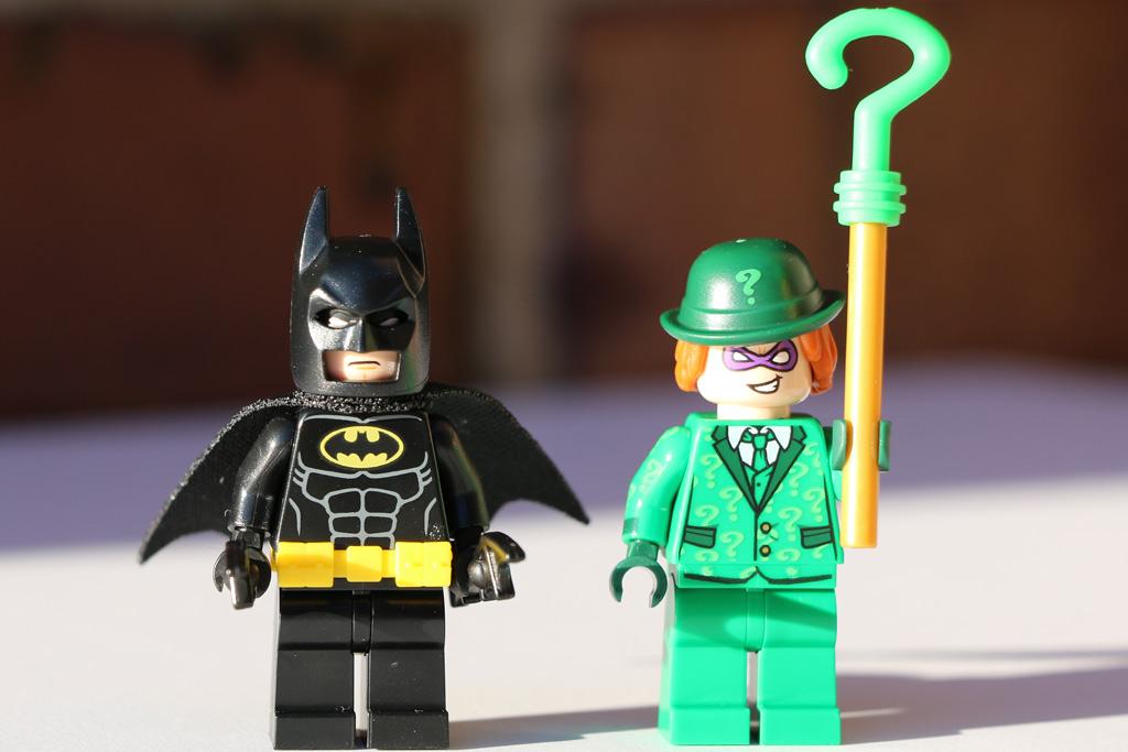 Batman und der Riddler | © Andres Lehmann / zusammengebaut.com