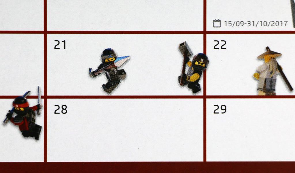 The LEGO Ninjago Movie: Minifiguren   © Andres Lehmann / zusammengebaut.com