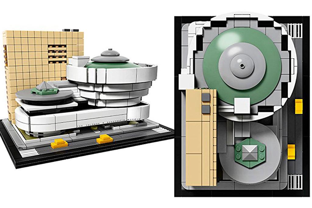 Lego architecture solomon r guggenheim museum 21035 for Architecture 2017