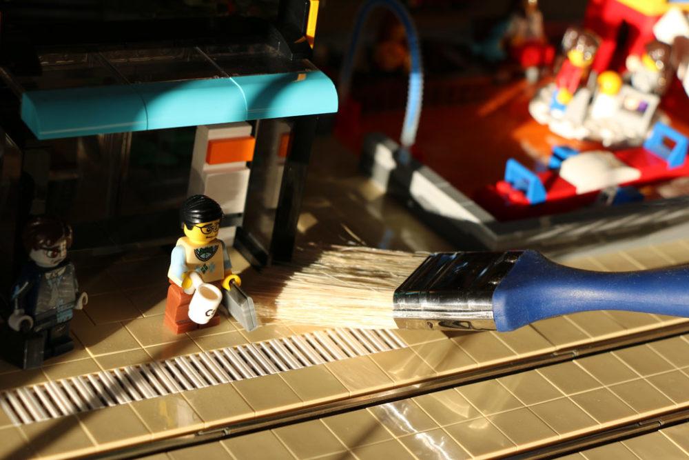 Tipps: Wie befreie ich mein LEGO von Staub? | zusammengebaut