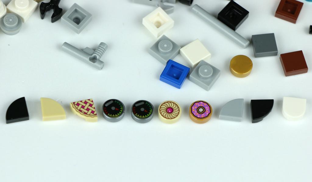 Lego Stadtleben 10255 Diese Steine Bleiben übrig Zusammengebaut