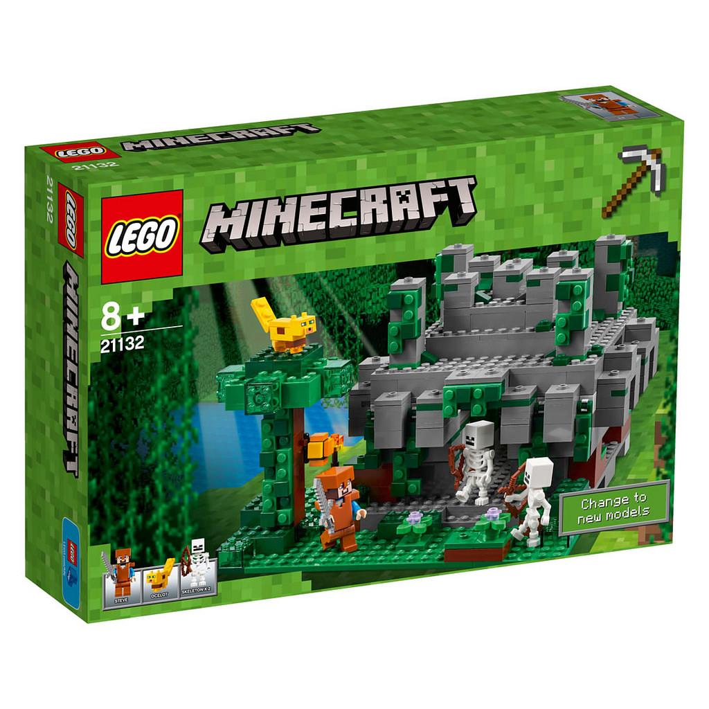 LEGO Minecraft Der Dschungeltempel 21132 | © LEGO Group