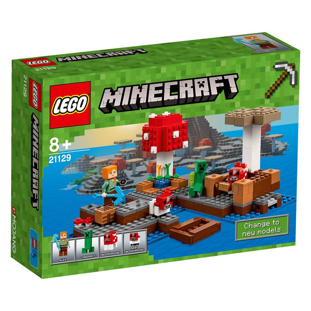 LEGO Minecraft Die Pilzinsel 21129 | © LEGO Group