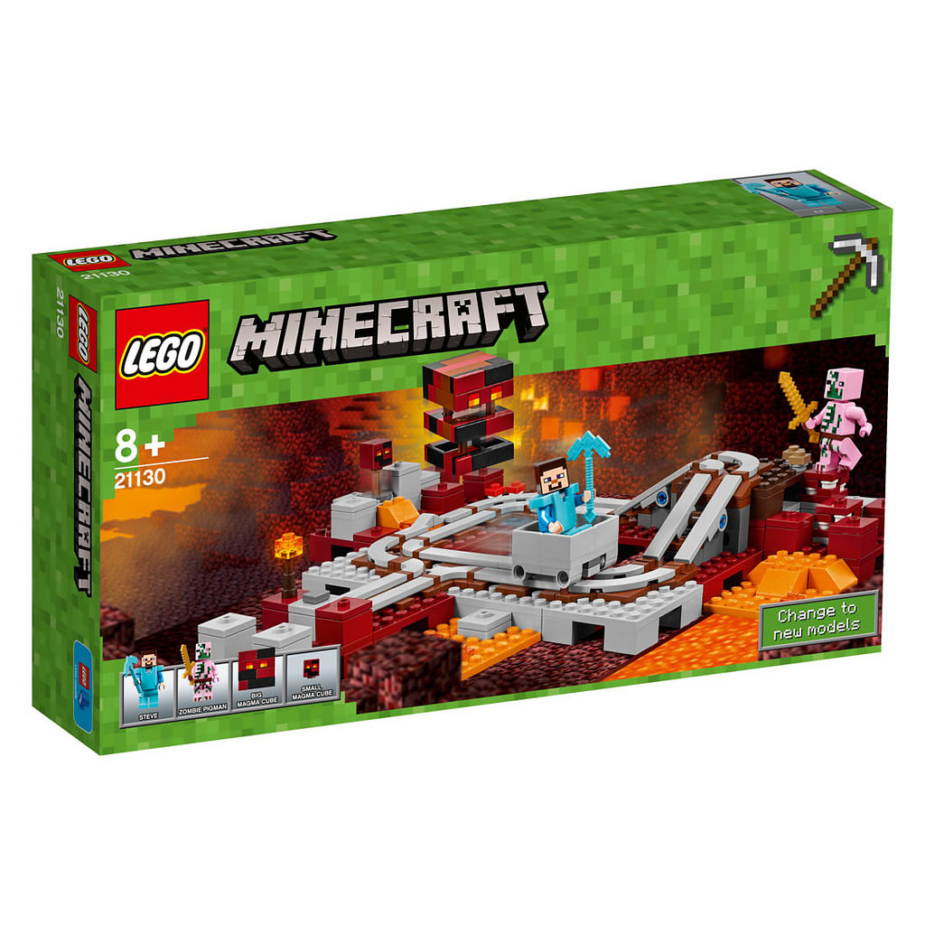 LEGO Minecraft Die Nether-Eisenbahn 21130 | © LEGO Group
