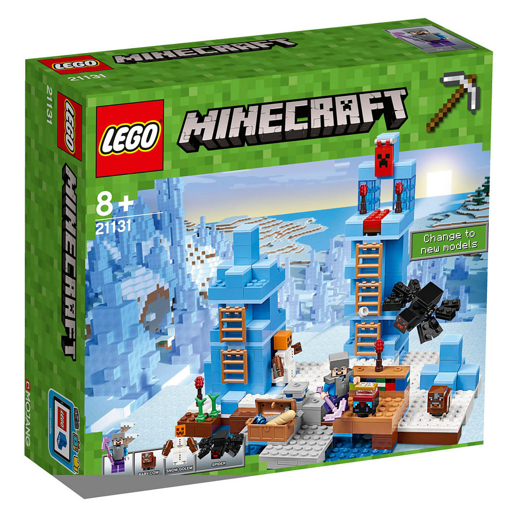 LEGO Minecraft Türme aus Eis 21131 | © LEGO Group