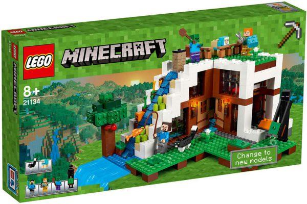 lego minecraft zusammengebaut. Black Bedroom Furniture Sets. Home Design Ideas