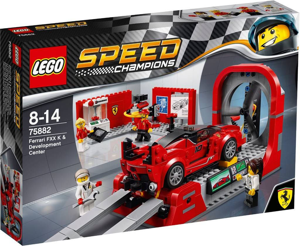 LEGO Speed Champions Ferrari FXX K & Development Center 75882 | © LEGO Group