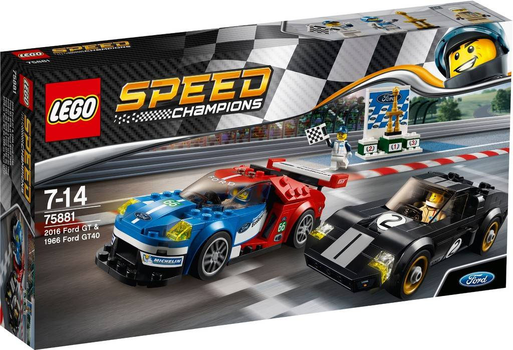 LEGO Speed Champions Ford GT 2016 & Ford 1966 GT40 75881 | © LEGO Group