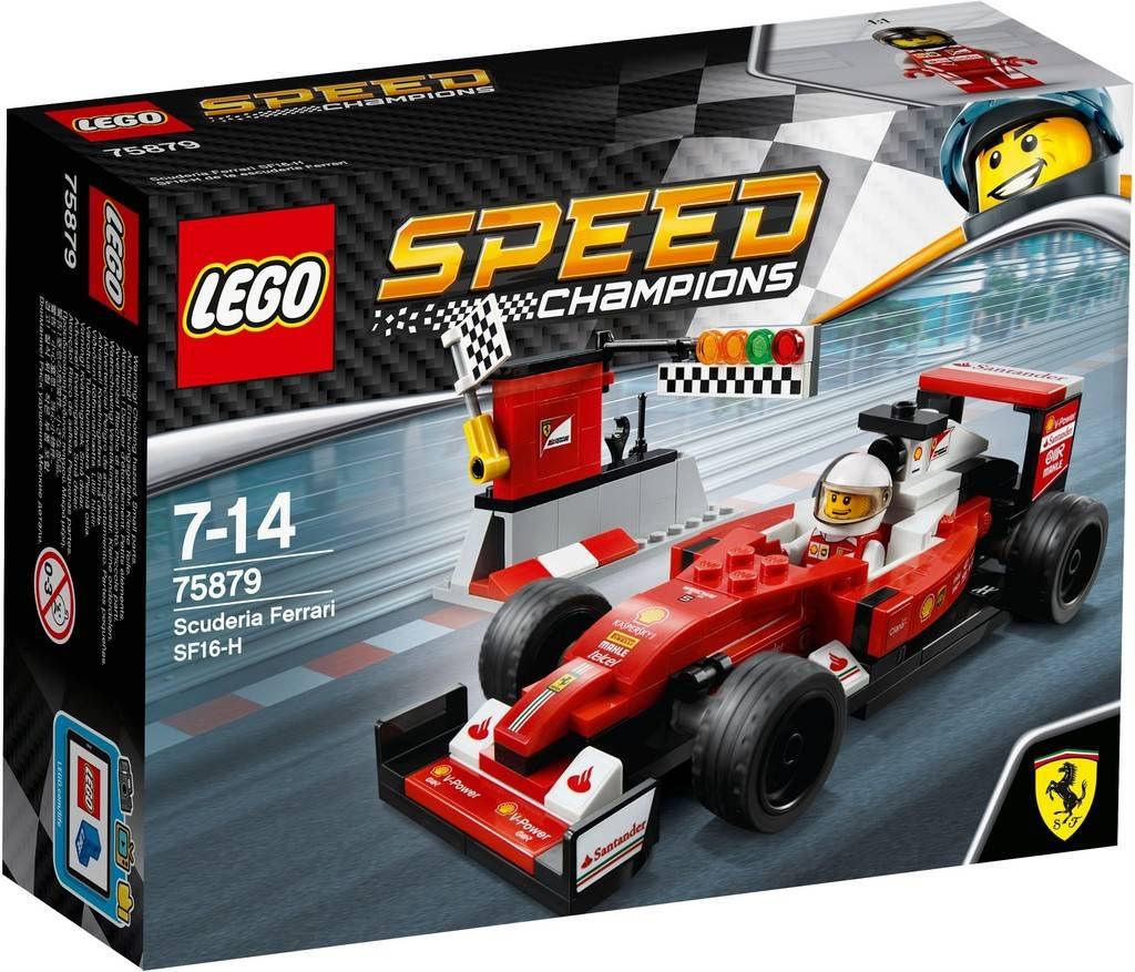 LEGO Speed Champions Scuderia Ferrari SF16-H 75879 | © LEGO Group