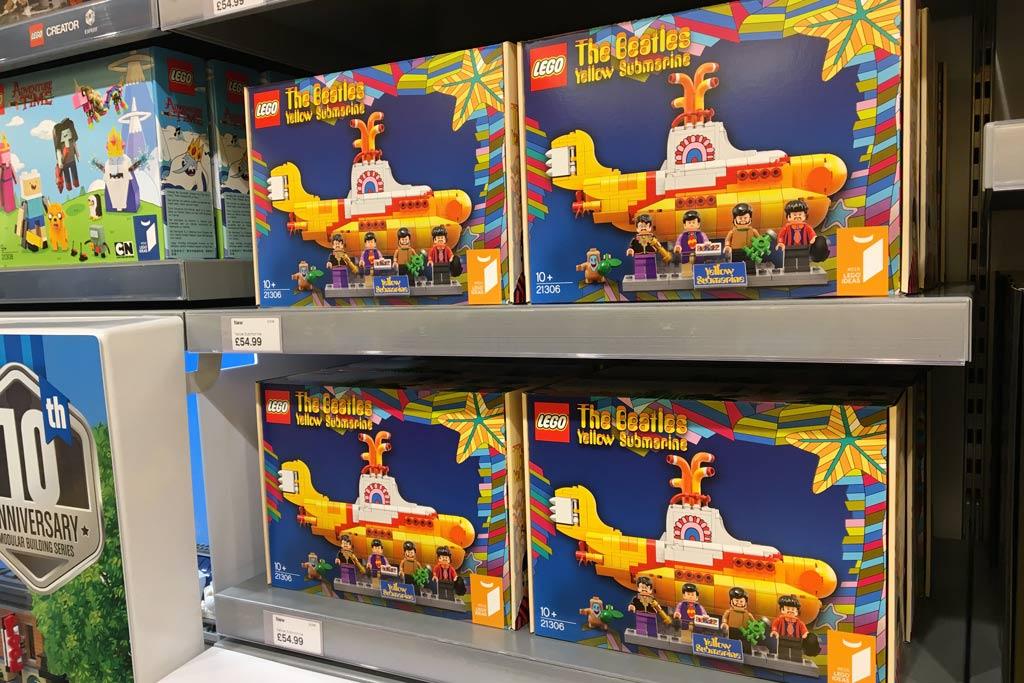 LEGO Ideas The Beatles Yellow Submarine 21306: Wenn nicht hier, wo dann? | © Marius