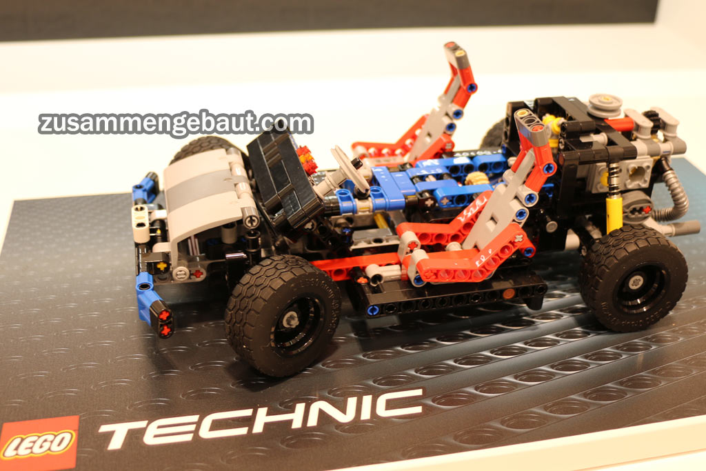 lego technic 40 jahre chassis berraschung auf der. Black Bedroom Furniture Sets. Home Design Ideas