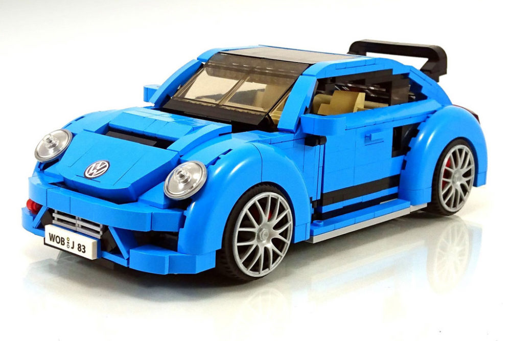 lego moc volkswagen beetle mit grc body kit zusammengebaut. Black Bedroom Furniture Sets. Home Design Ideas
