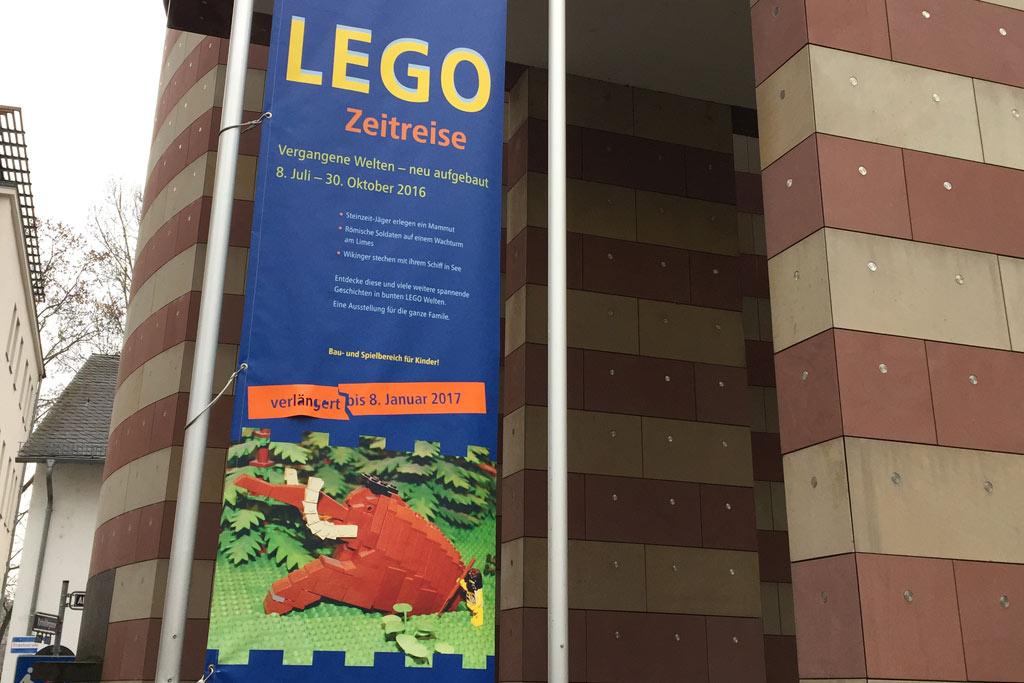 Die LEGO Zeitreise ist in Frankfurt beendet. | © Jan Munzer