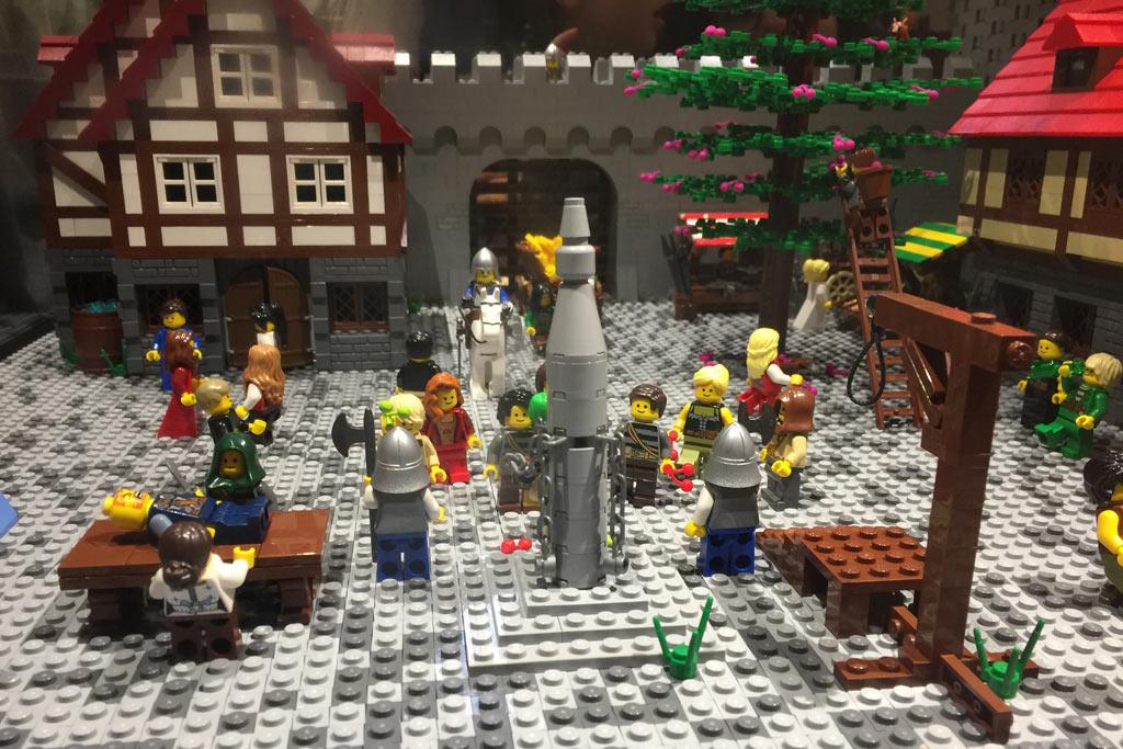 Im Mittelalter war nicht alles rosig... | © Jan Munzer