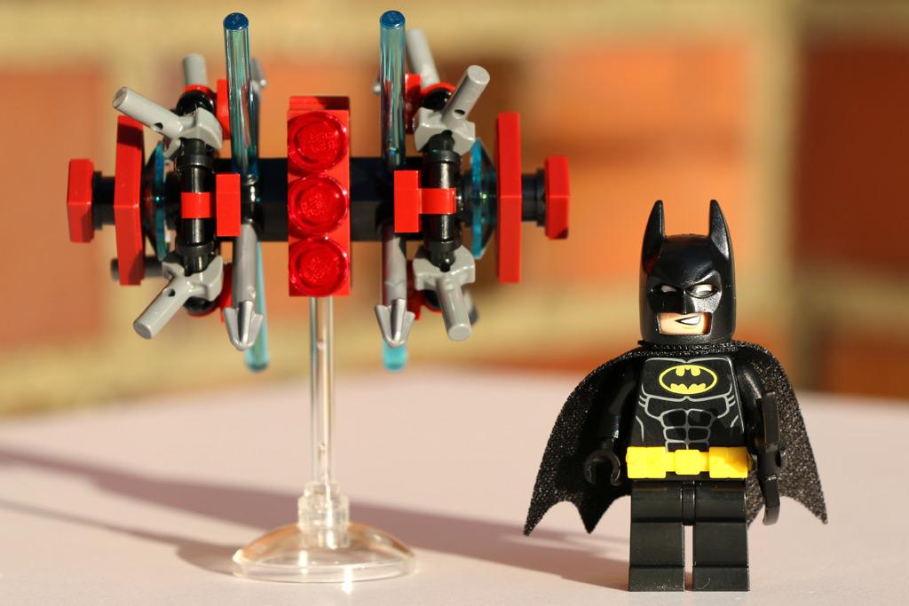 Das Phantom und Batman | © Andres Lehmann / zusammengebaut.com