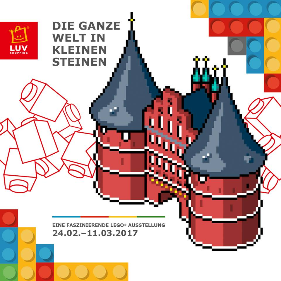 Lego Ausstellung Im Luv Shopping Einkaufscenter Bei Lubeck