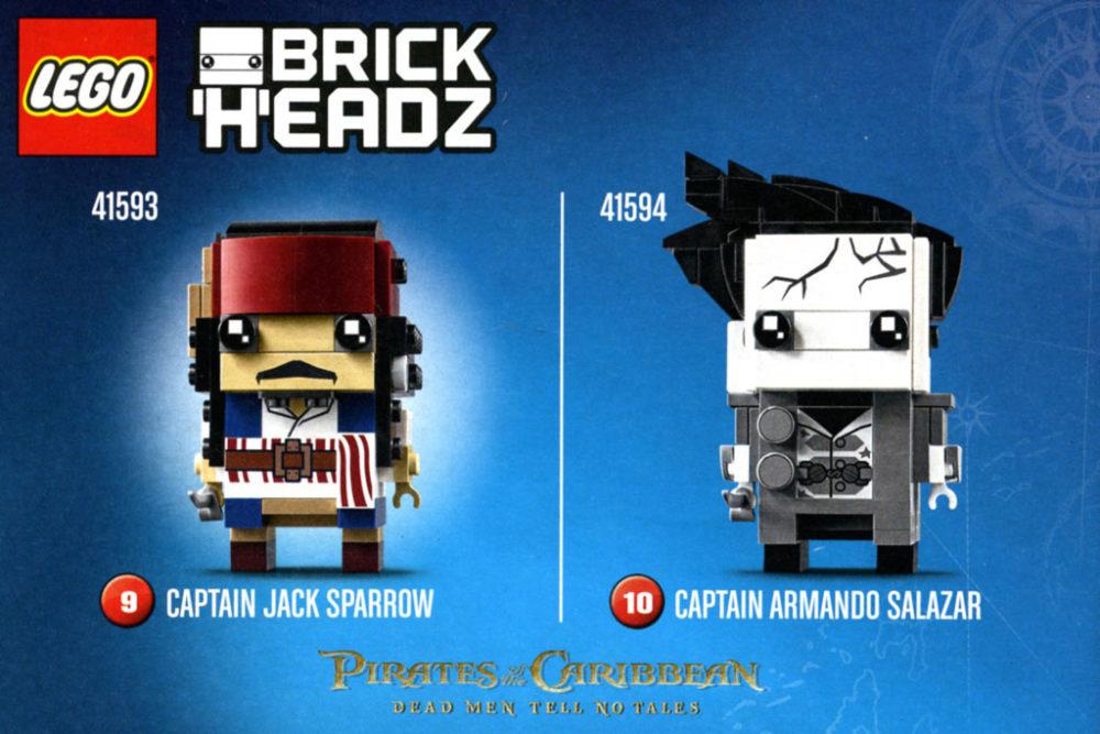Lego Brickheadz Captain Jack Sparrow Meldet Sich Zurück