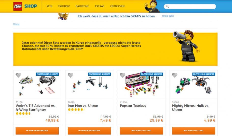 lego shop online deutschland