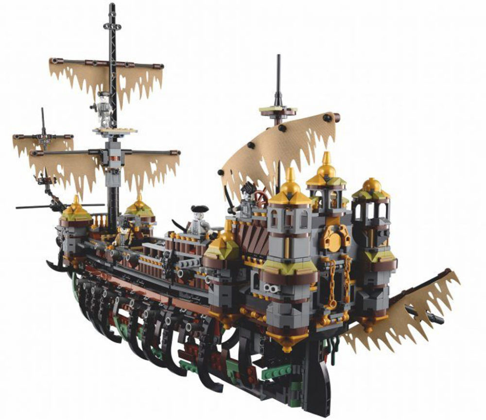 Lego Pirates Of The Caribbean The Silent Mary 71042 Offizielle