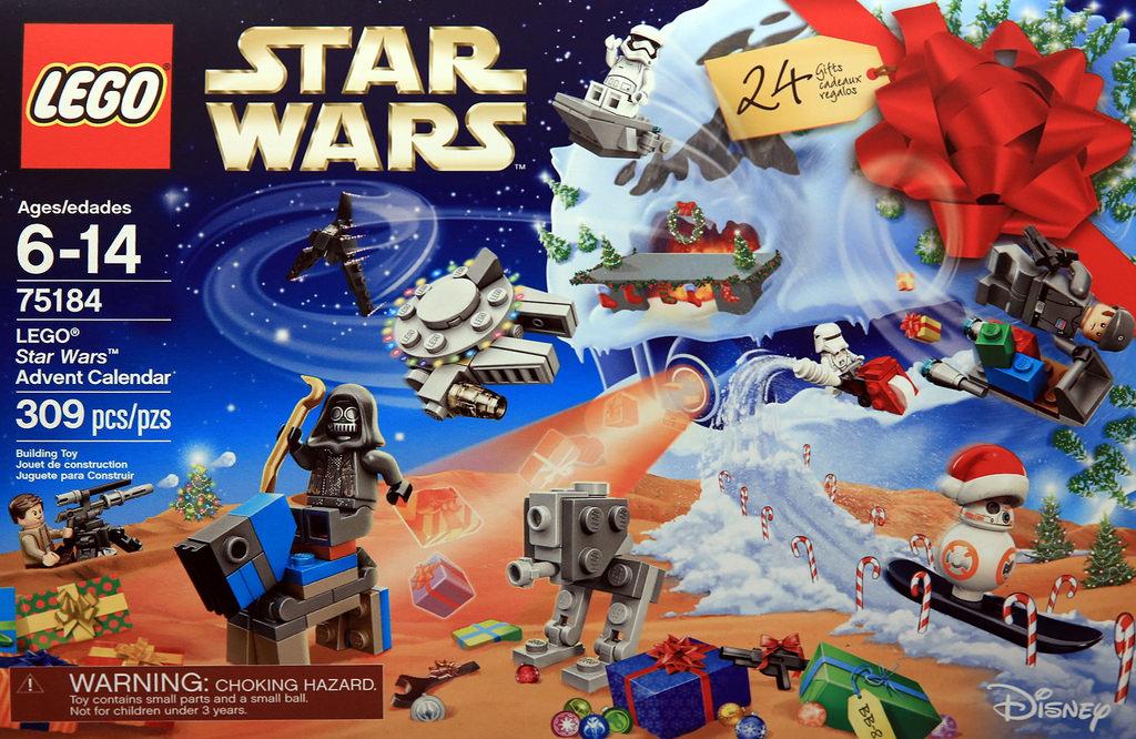 Lego Star Wars Advent Calendar 2017 Instructions Calendrier