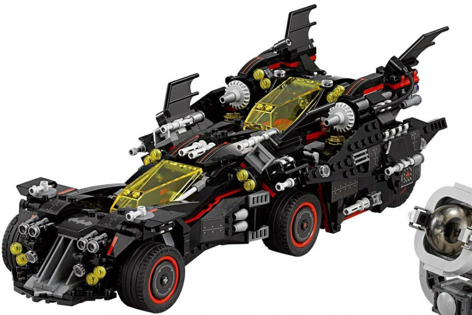 the lego batman movie the ultimate batmobile 70917
