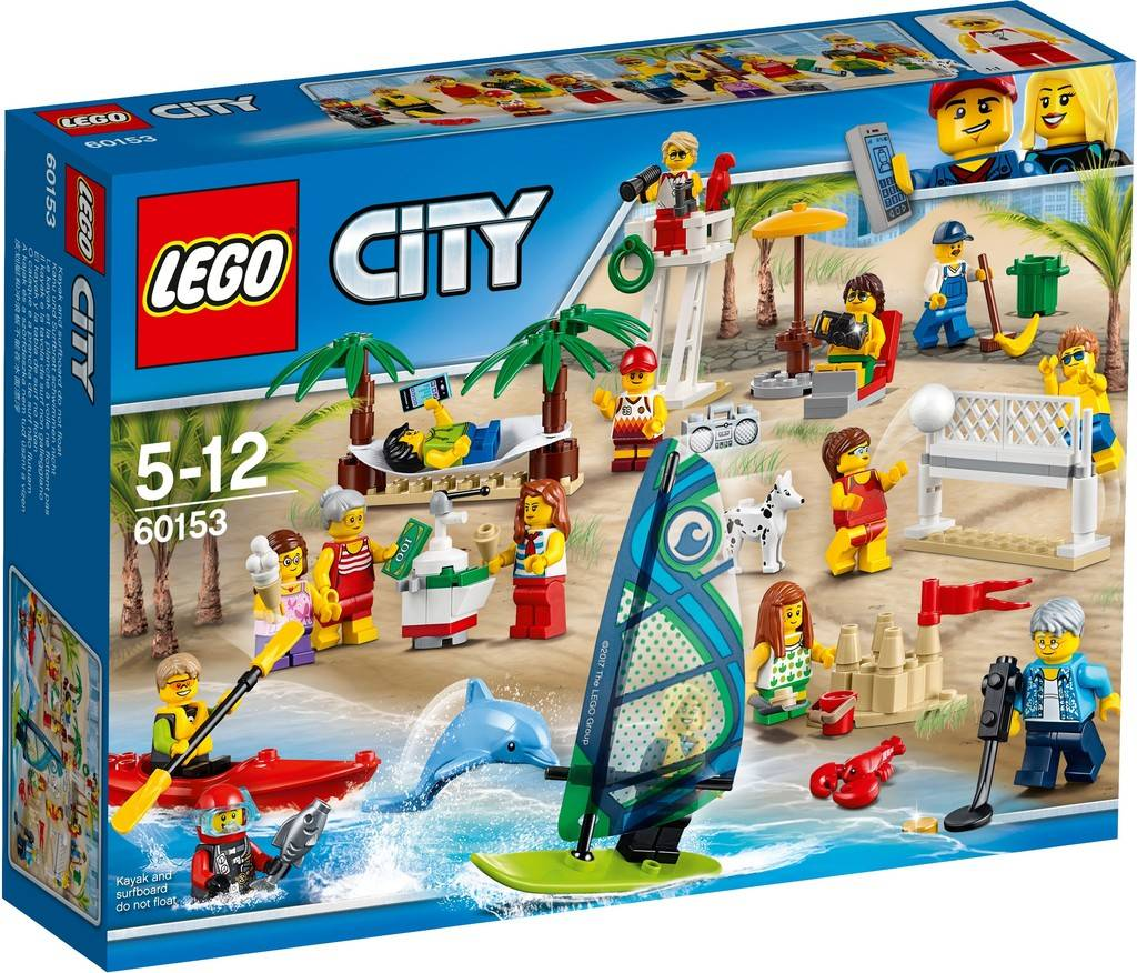 Lego city fun at the beach 60153 strandvergn gen people - Image lego city ...