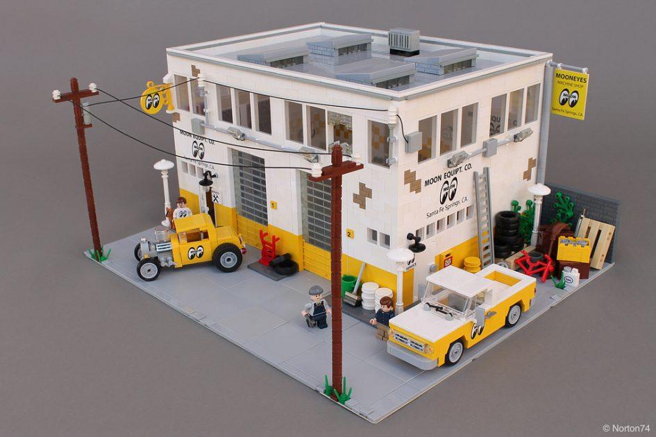 Lego Moc Mooneyes Hauptquartier Der 60er Jahre