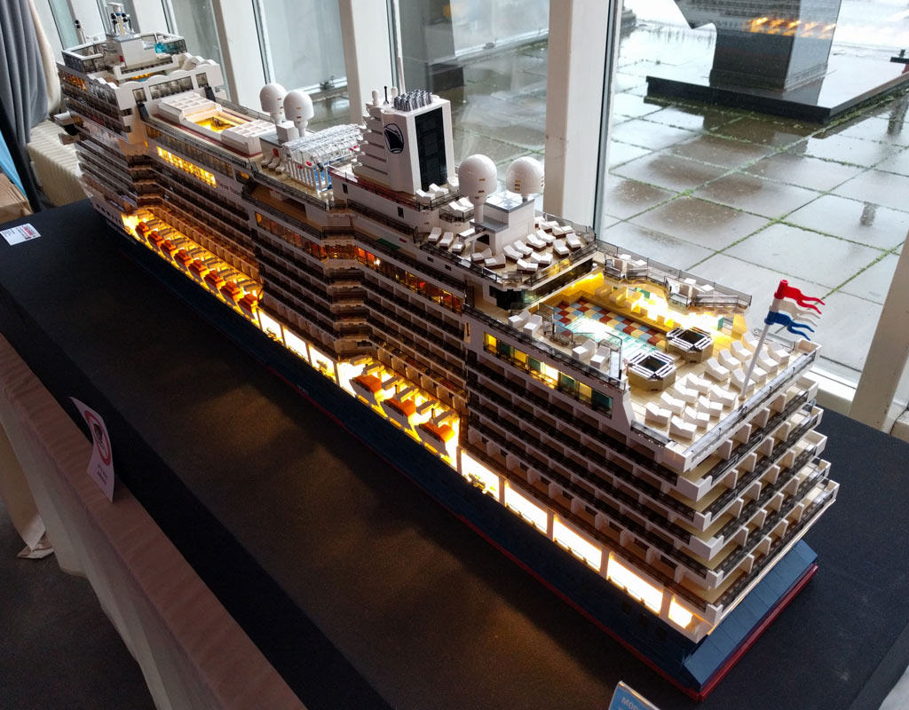 Lego moc nieuw amsterdam kreuzfahrtschiff der holland for Architecture 2018