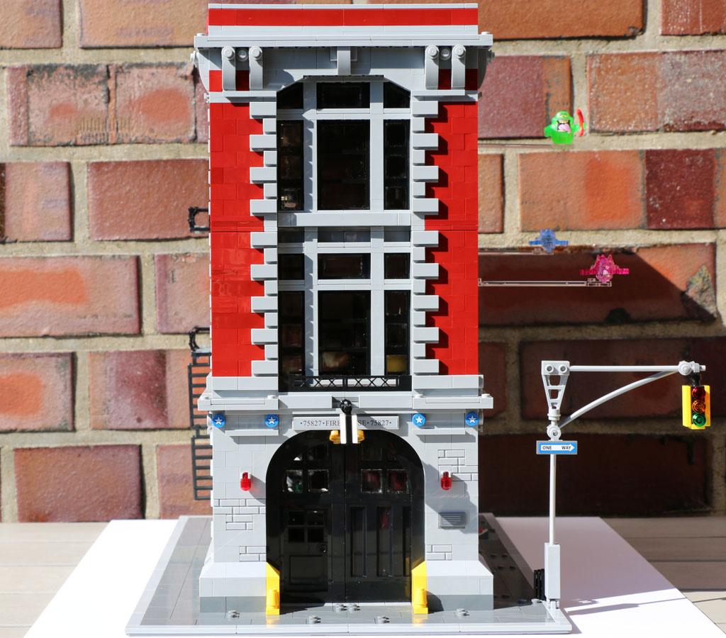 Lego Ghostbusters Feuerwehr Hauptquartier 75827 Im Review