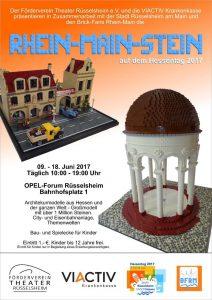 Rhein-Main-Stein auf dem Hessentag 2017 @ OPEL-Forum Rüsselsheim