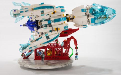 Raumschiff Chrysalis von Michael Kanemoto
