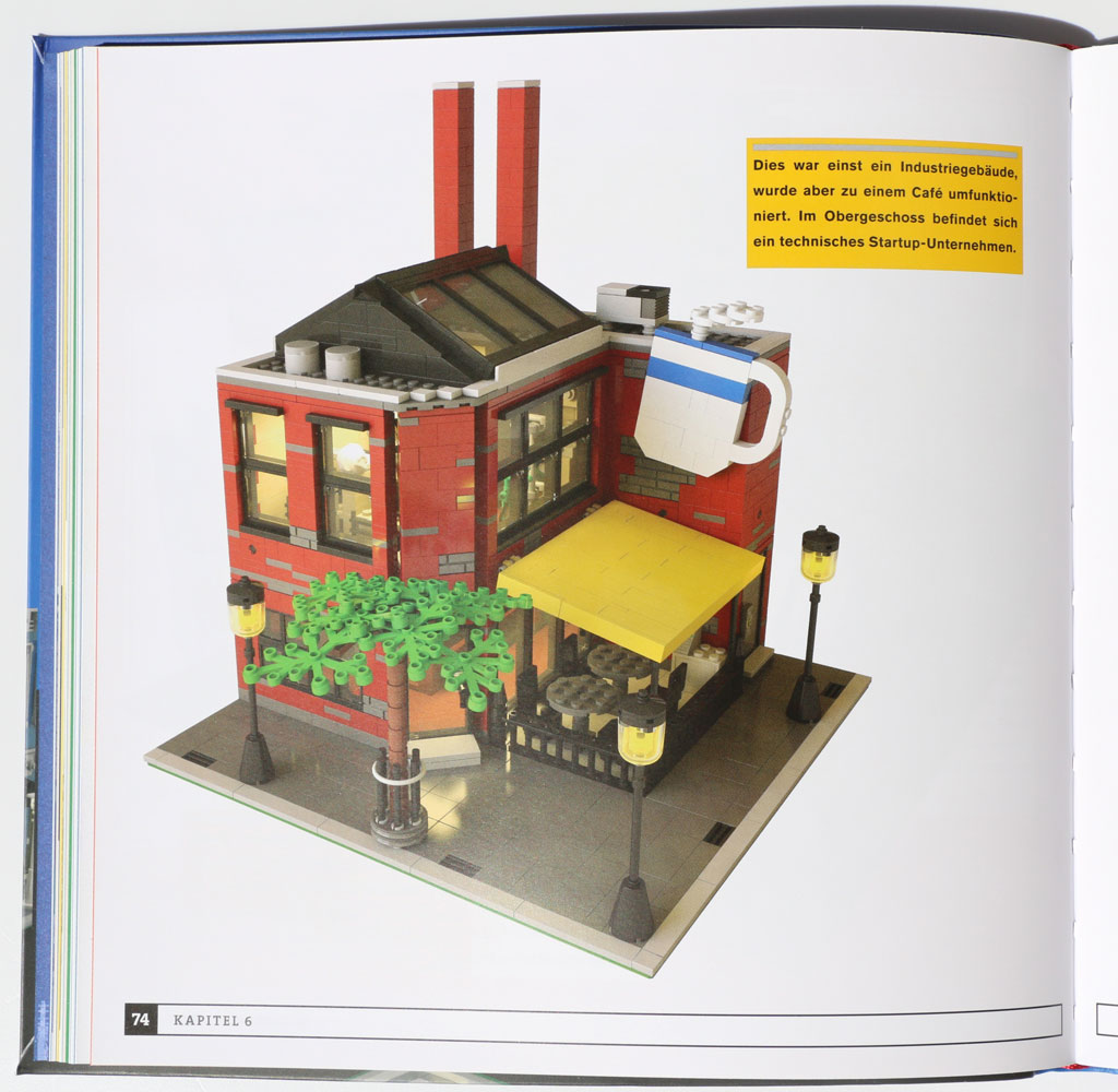 h user aus lego steinen im buch review stein auf stein zusammengebaut. Black Bedroom Furniture Sets. Home Design Ideas