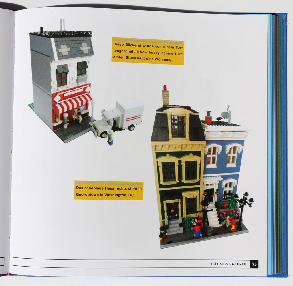 Häuser aus LEGO Steinen im Buch-Review: Stein auf Stein | zusammengebaut