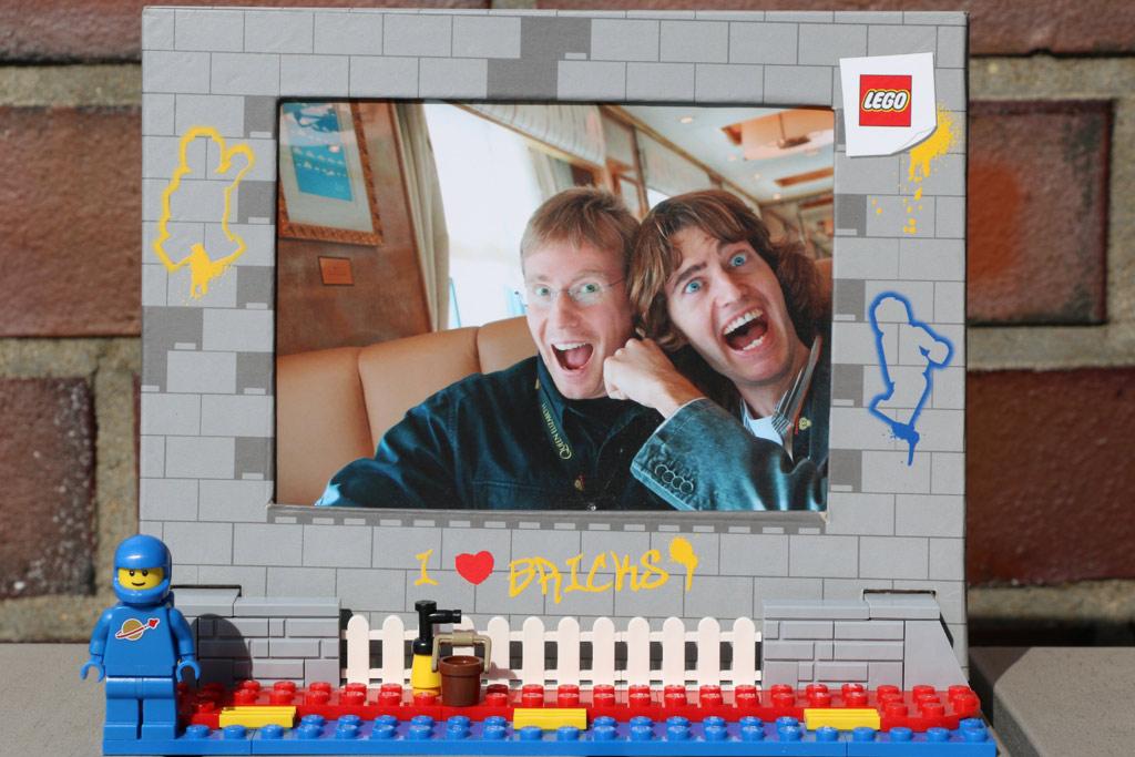 LEGO Piraten Bilderrahmen 40389 neues exklusives Set   zusammengebaut
