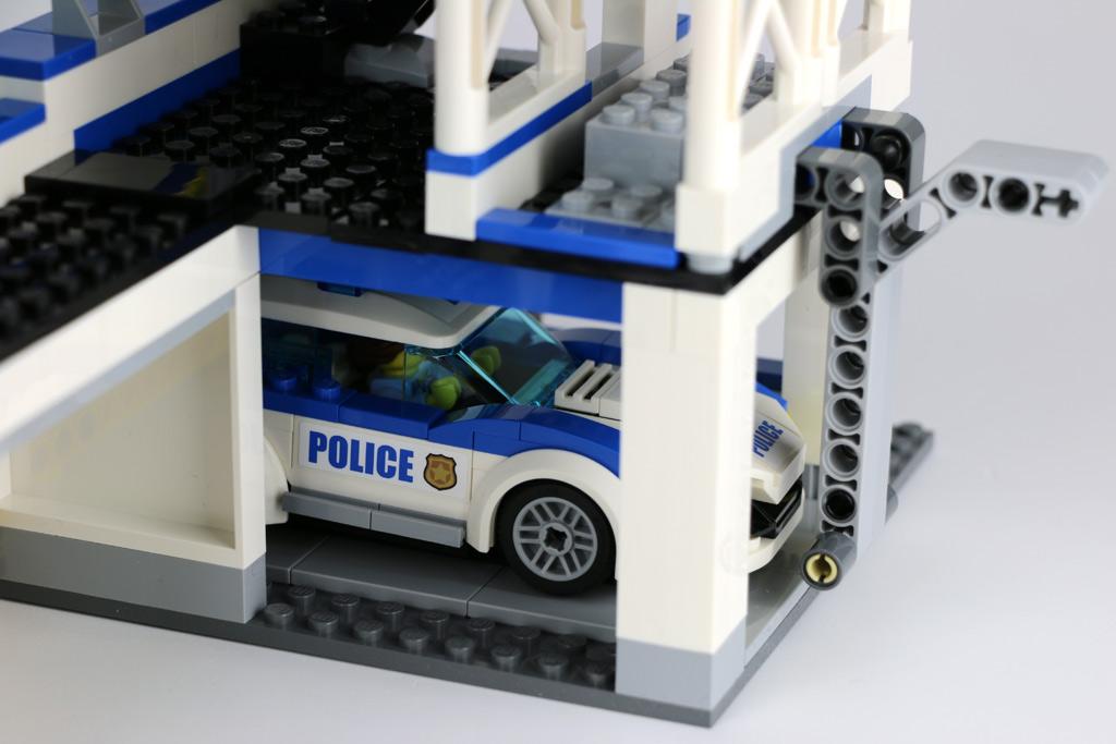 Lego City Garage : Lego city polizeiwache im review zusammengebaut