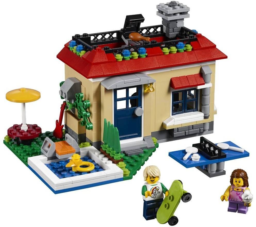lego-creator-modular-poolside-holiday-31067 zusammengebaut.com