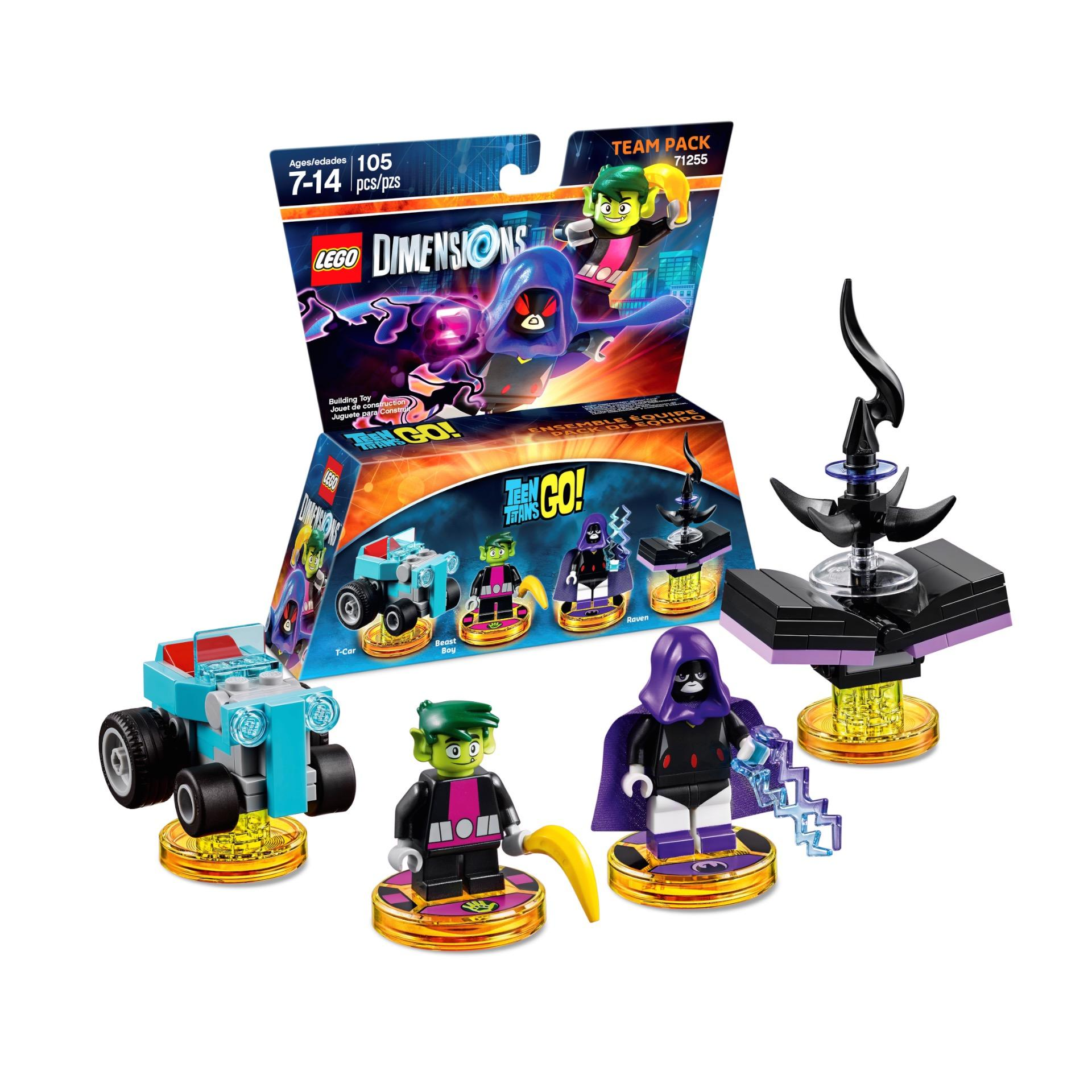 LEGO DIMENSIONS Powerpuff Girls Team and Fun Pack Set Blossom Bubbles Buttercup