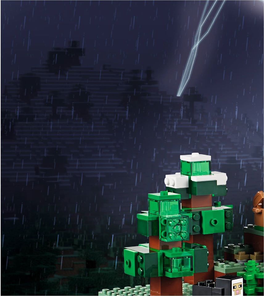Lego minecraft mountain cave 21137 teaser bilder for Domon we the theme