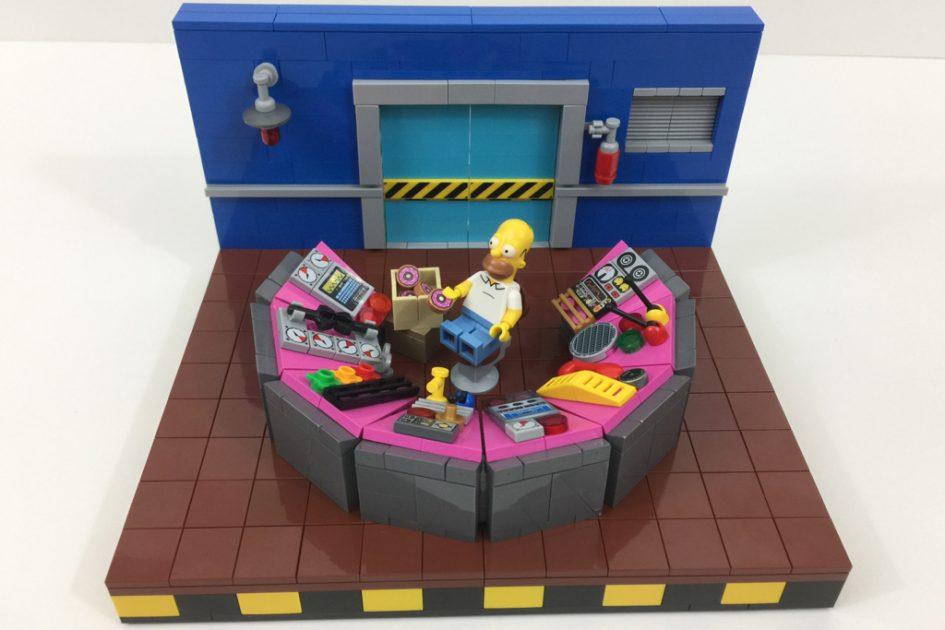 lego simpsons moc atomkraftwerk � es hat puff gemacht