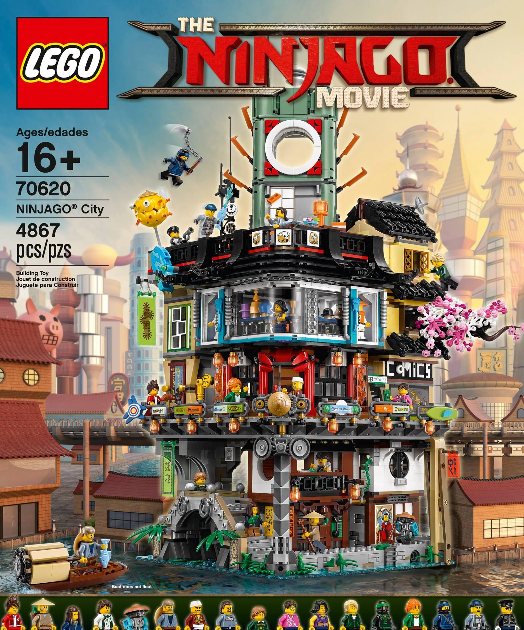 the lego ninjago movie ninjago city 70620 vorgestellt