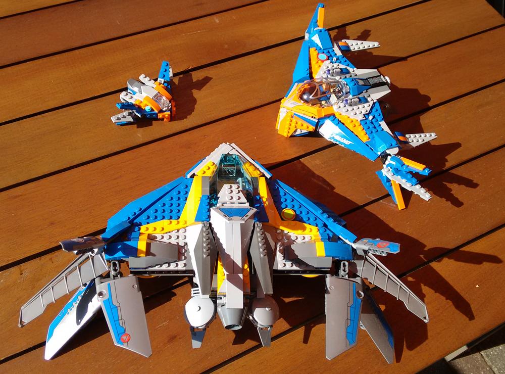 LEGO: The Milano in klein, mittel und groß